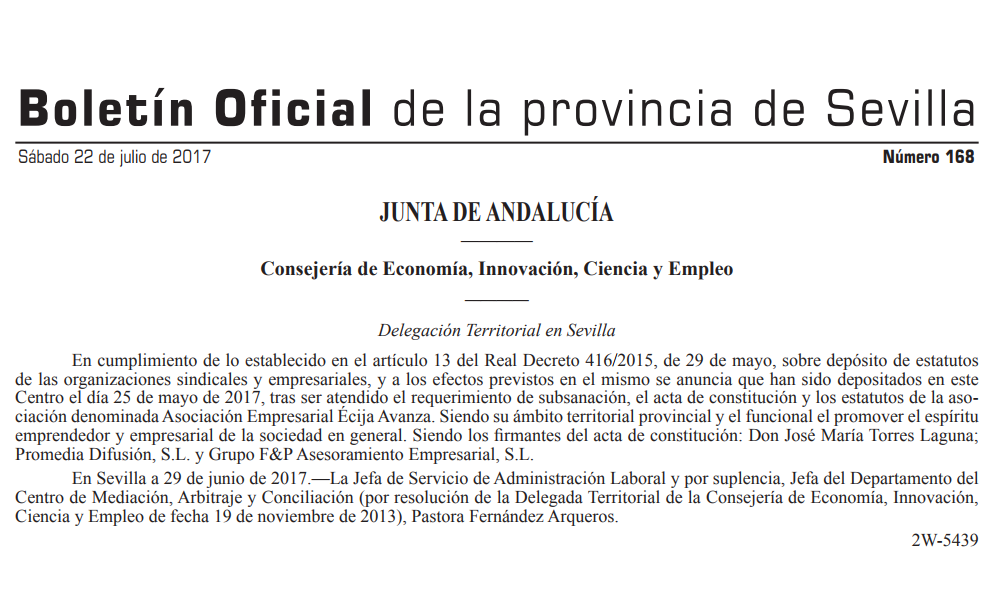 Asociación de Empresarios de Écija